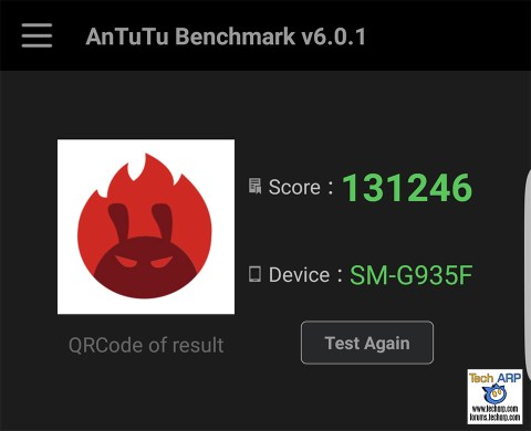 Samsung Galaxy S7 edge AnTuTu Results