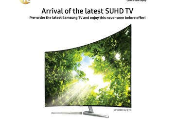 Samsung SUHD TV Pre-Order Promotion