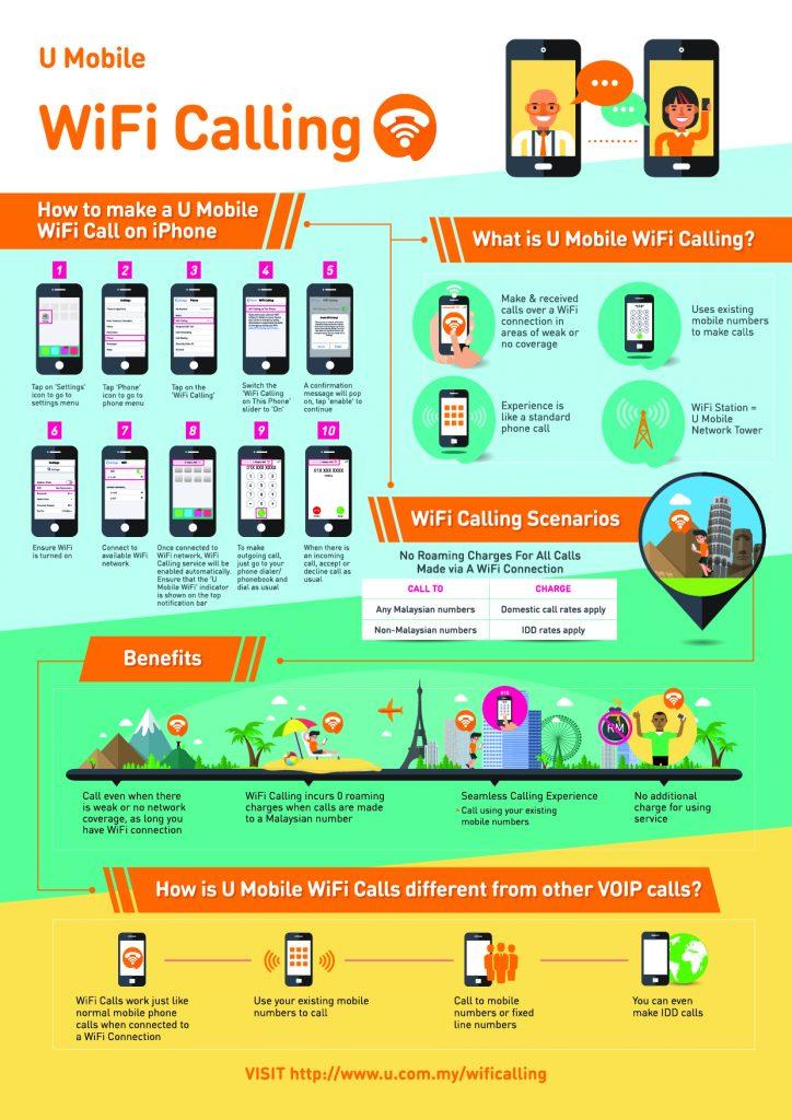 U Mobile Launches WiFi Calling