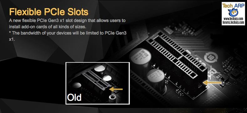 ASRock Fatal1ty Z170 Gaming K4 PCI Express slots