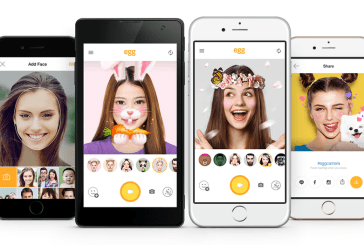 LINE Releases egg - a free Selfie App