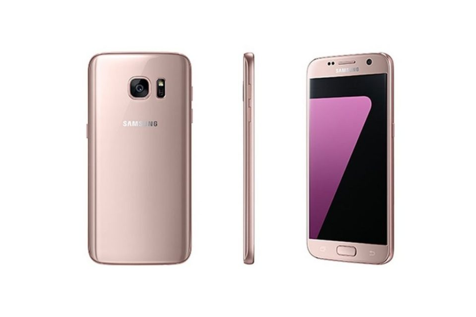 Samsung Pink Gold Galaxy S7 edge Released