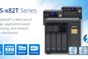QNAP TVS-x82T Thunderbolt 2 NAS Launched