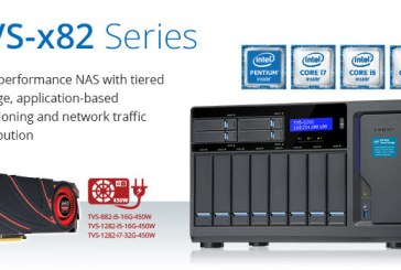 QNAP TVS-x82 High-Performance NAS Announced