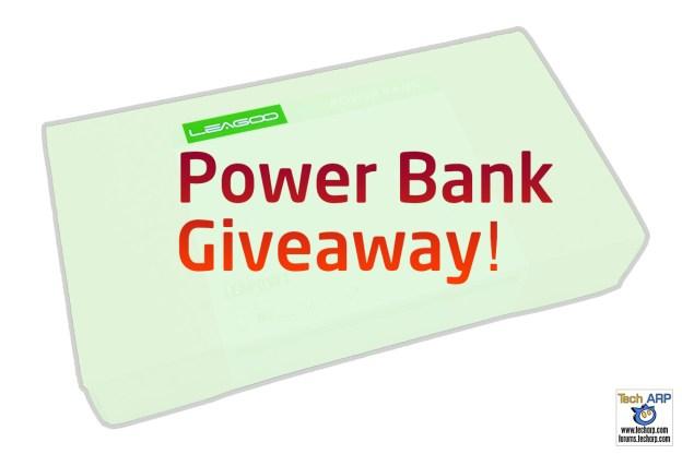 Tech ARP 2016 Power Bank Giveaway #5