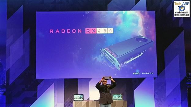 AMD Radeon RX 480 Revealed