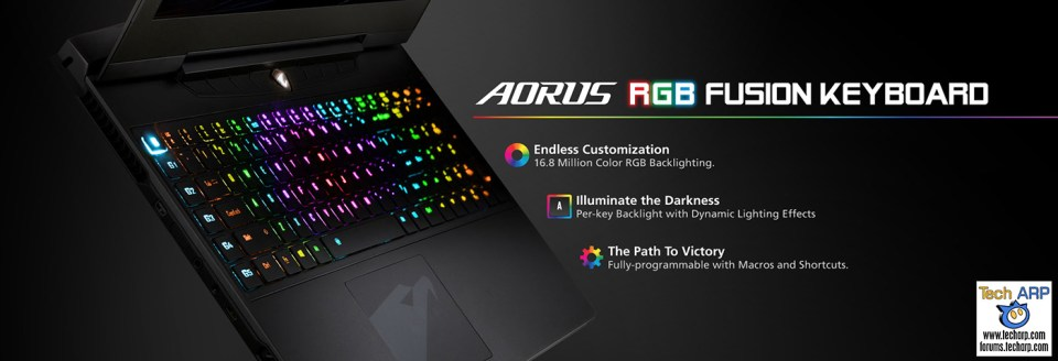 AORUS Computex 2016 Tech Overview - AORUS RGB Fusion Keyboard