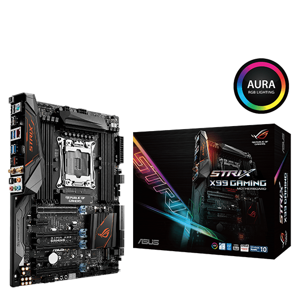 ASUS ROG Strix X99 Gaming Motherboards Announced