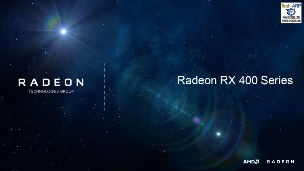AMD Radeon RX 400 Series Revealed