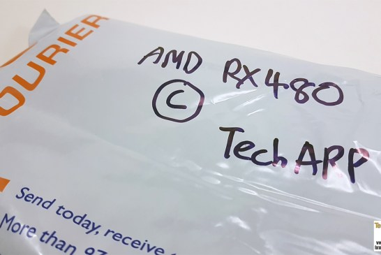 AMD Radeon RX 480 Hands-On Preview - Package