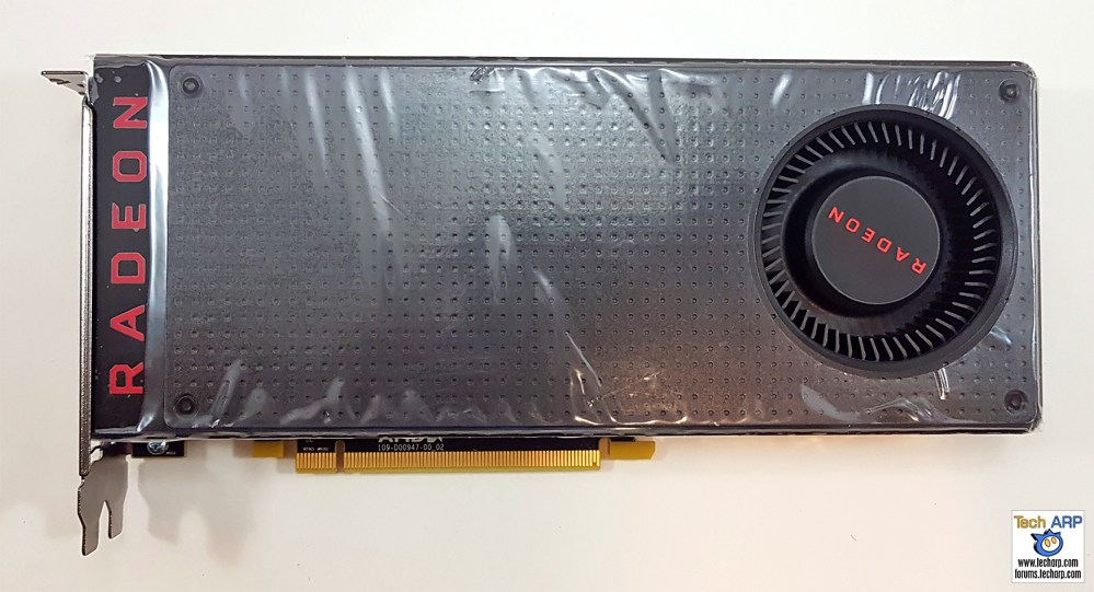 AMD Radeon RX 480 front