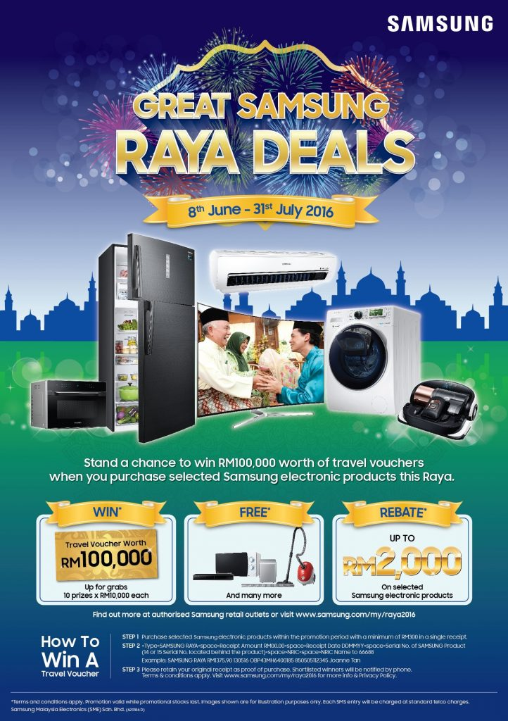 Great Samsung Raya Deals 2016