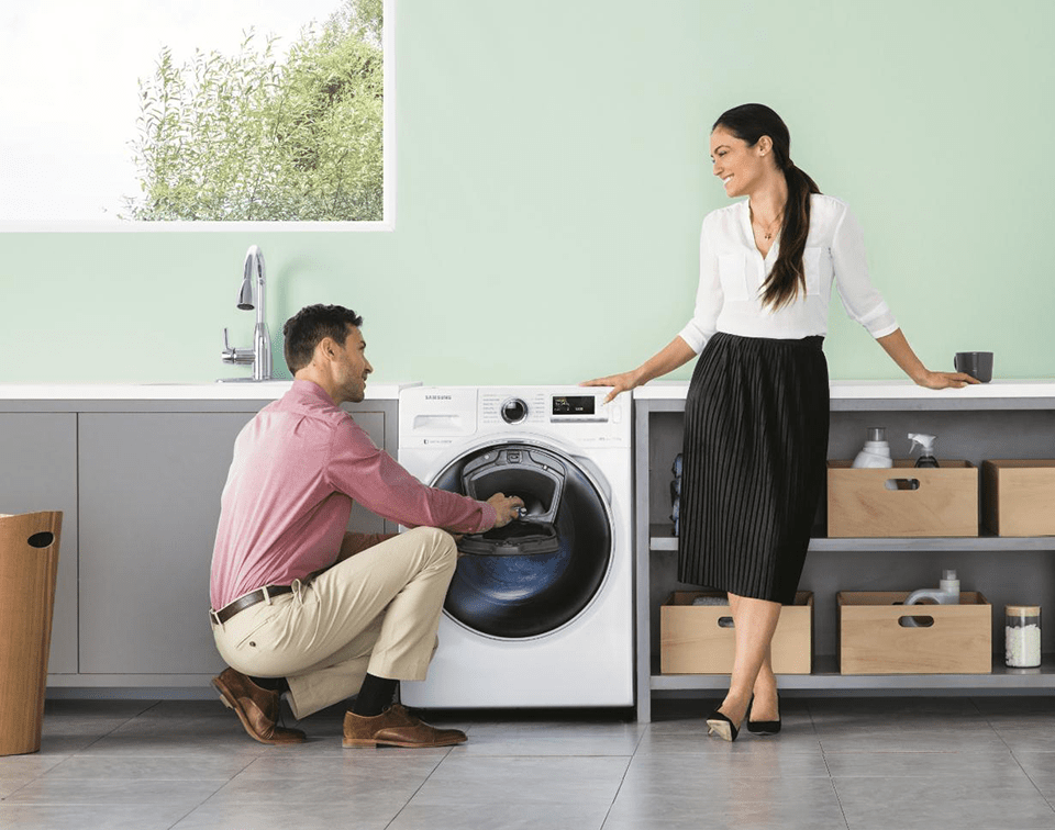 Samsung Introduces AddWash Washing Machine