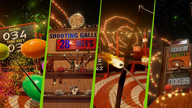 NVIDIA VR Funhouse Released