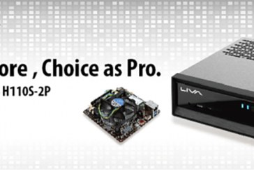 Elitegroup Launches ECS H110S-2P & LIVA Pro Mini PC