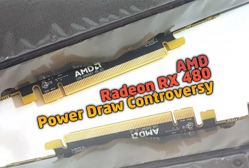 AMD Radeon RX 480 Power Draw Controversy Rev. 3.0