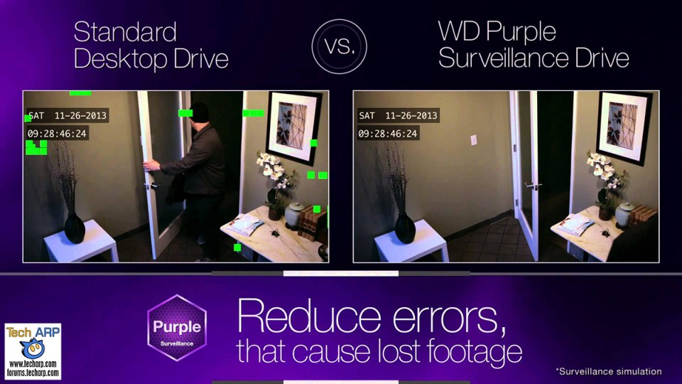 WD Purple - Is Your Hard Disk Drive Optimised For CCTV Recording?