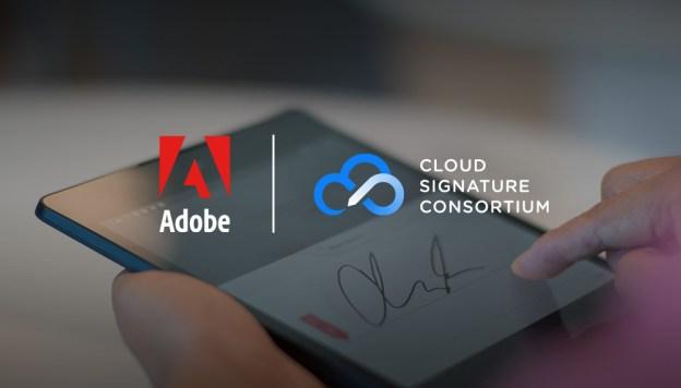 Adobe Cloud Signature Consortium Announced