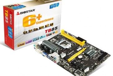 BIOSTAR TB85 Motherboard Announced