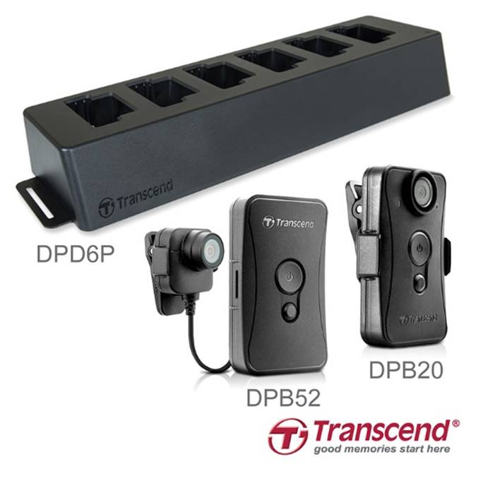 Transcend DrivePro Body 20 & 52 Body Cameras Released