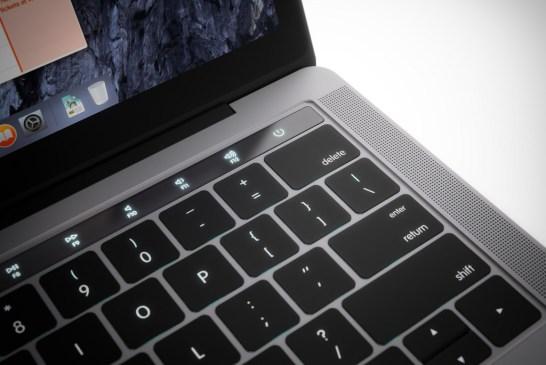 OLED touch bar concept in 2016 MacBook Pro   Credit : Martin Hajek