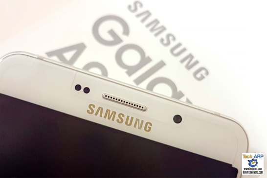 Samsung Galaxy A9 Pro front camera