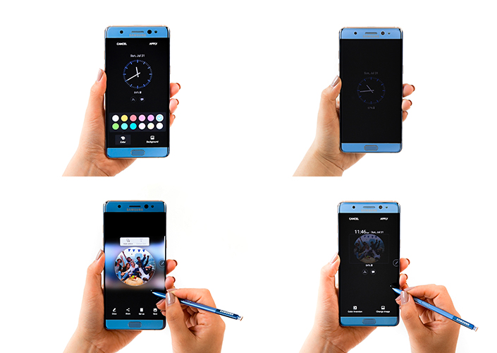 Samsung Galaxy Note7 New Always On Display Feature