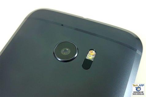 HTC 10 rear camera