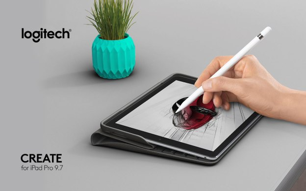 Logitech CREATE Keyboard Case For iPad Pro 9.7 Introduced