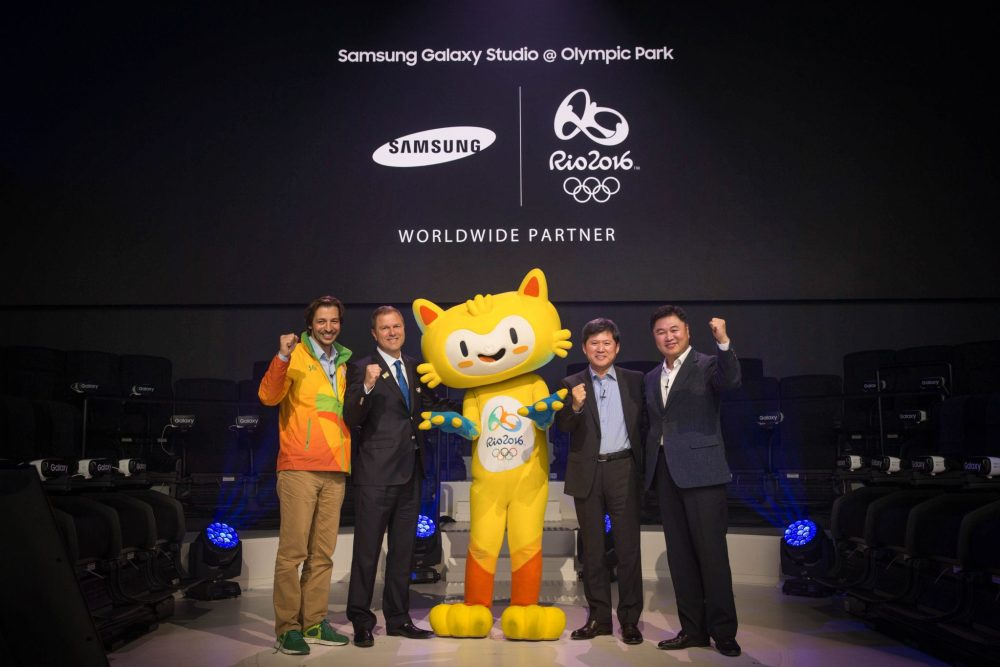 Samsung Unveiled Galaxy Studio In Olympic Park