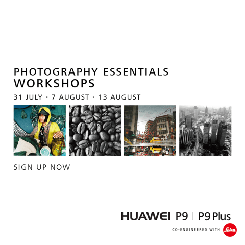 Leica & Huawei Host P9 Photography Workshops