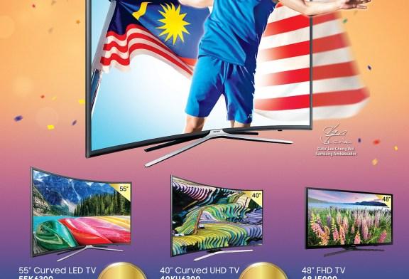 Samsung Curved TV Offer For Merdeka Celebration 2016