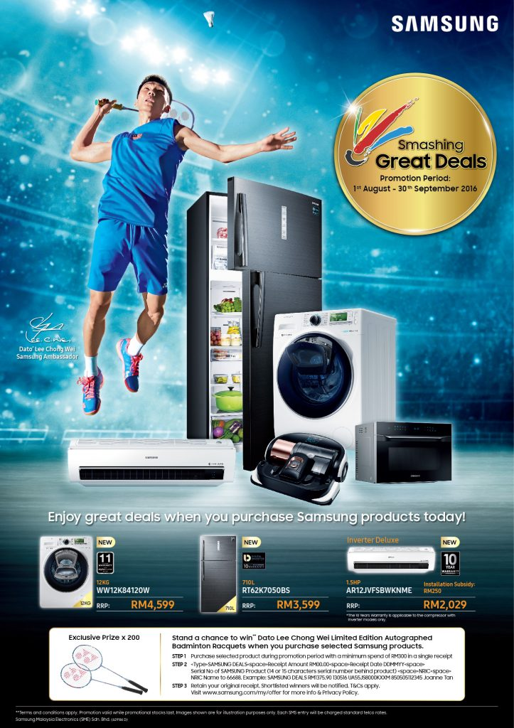Samsung Offer 'Smashing Great Deals'!
