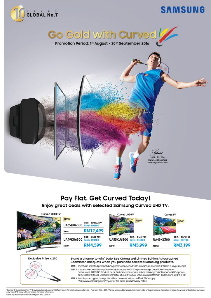 Samsung Offer 'Smashing Great Deals'!