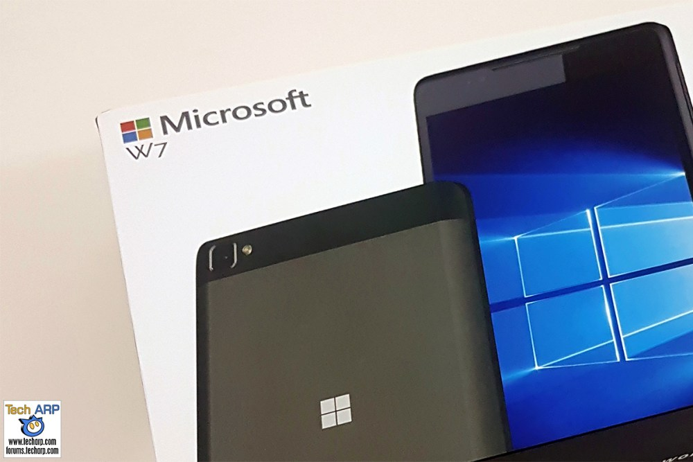 Wise Pad W7 Windows 10 Phablet Review