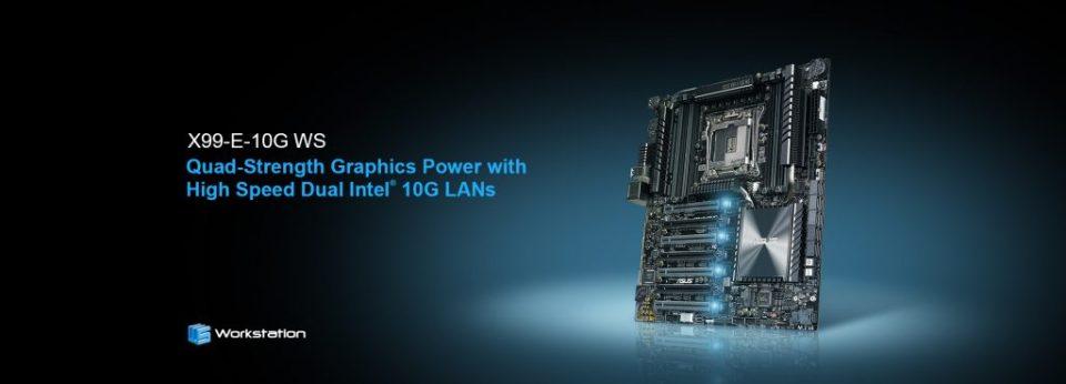 ASUS X99-E-10G WS Announced