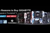 Free GIGABYTE Thunderbolt 3 Upgrade
