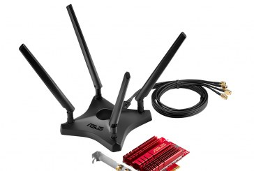 ASUS PCE-AC88 Dual-Band 802.11ac Wi-Fi PCIe Announced