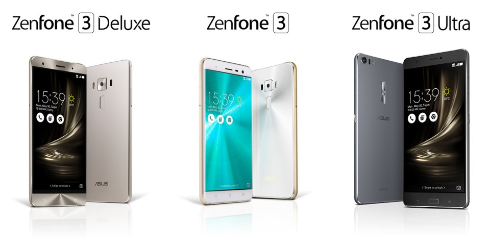 ZenFone 3 Series Available In Malaysia