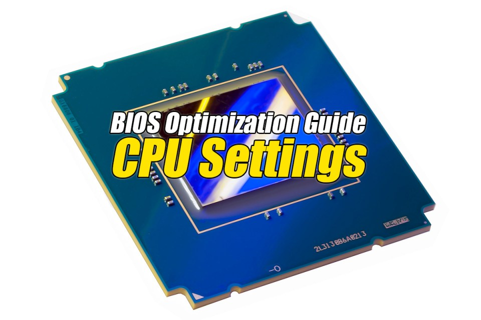 Vanderpool Technology - The BIOS Optimization Guide