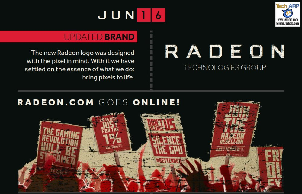 Radeon Technologies Group Celebrates First Year Anniversary