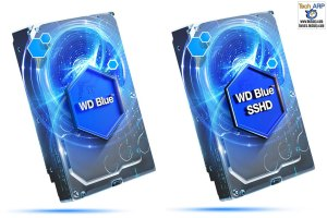 WD Blue HDD and SSHD