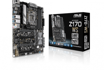 ASUS Z170-WS ATX Workstation Motherboard Announced
