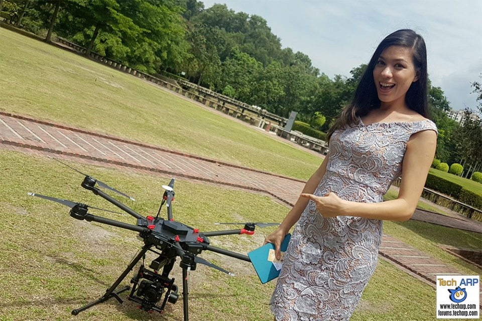 DJI Matrice 600 Drone Preview & Flying Demonstration