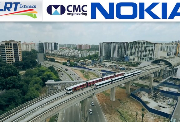 Nokia Communications Network On Expanded LRT Line