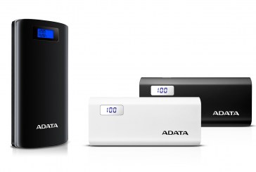 ADATA P20000D & P12500D Power Banks Unveiled