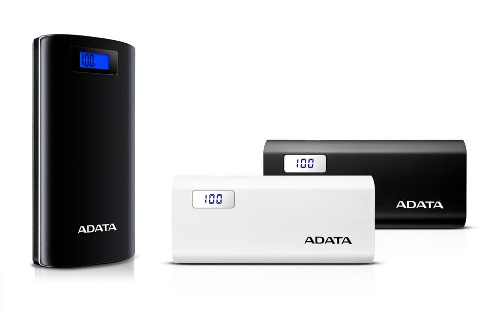 ADATA P20000D & P12500D Power Banks Unveiled