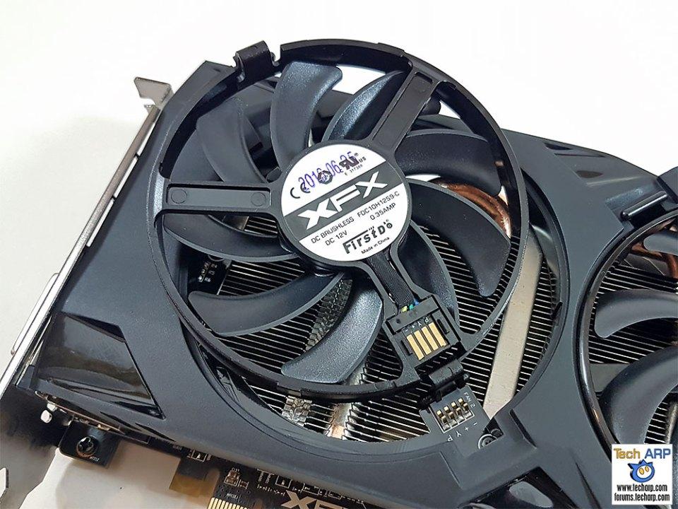 XFX Radeon RX 470 RS Black Edition fan