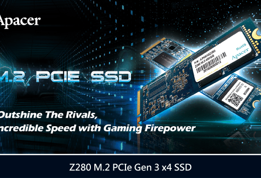 Apacer Z280 M.2 PCIe Gen 3 x4 SSD Introduced