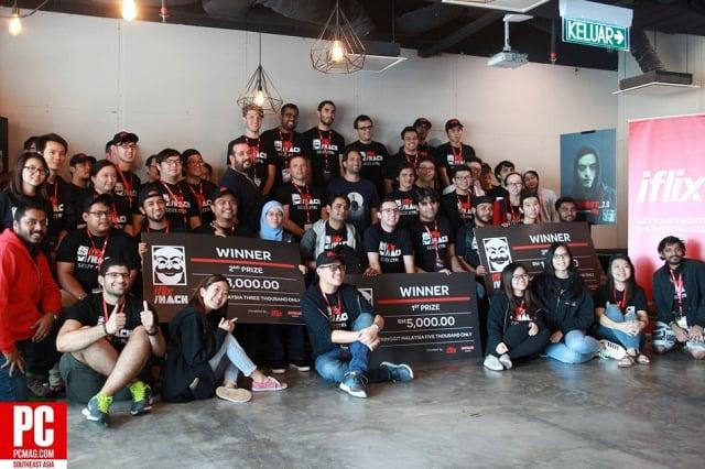 iflix Inaugural 24hrs Hackathon Seize Ctrl Showcases Malaysia